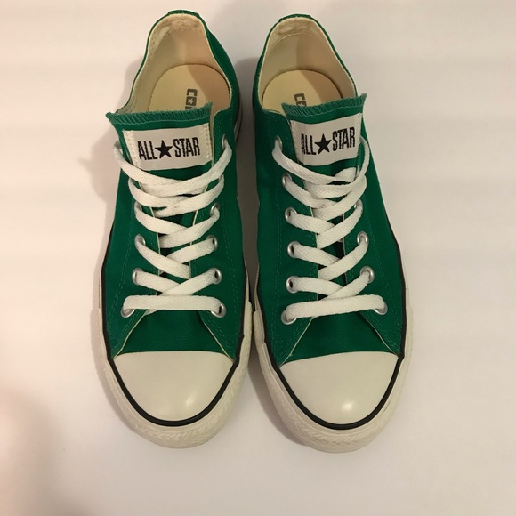 d01d3a76d33e Converse Shoes - Converse Chuck Taylor All Star Green Low Top